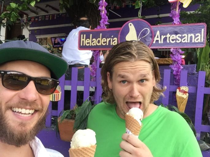 Lengua de mariposa heladeria ice cream, cali, colombia